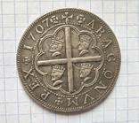 Монета. Испания.  Королевство Арагон.  1707г. Реплика, фото №2