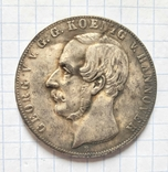 Монета. Талер. Германия 1855г. Реплика, фото №2