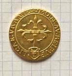 Монета. Франция. 1635г. Реплика, фото №3
