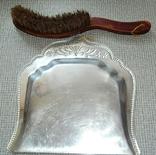 Старинные совок и щётка, фото №7