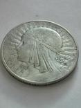 10 злотых 1933 года, серебро, фото №3