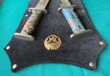 Два ножі чилійського спецназу Korvo (копії), фото №4