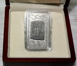 ХАЧКАР (Крест-камень) МОНАСТЫРЯ ГНДЕВАНК - серебро, вставка из мрамора - ПОЛНЫЙ КОМПЛЕКТ, фото №3