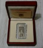 ХАЧКАР (Крест-камень) МОНАСТЫРЯ САНАИН - серебро, вставка из мрамора - ПОЛНЫЙ КОМПЛЕКТ, фото №2