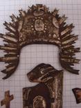 Серебренные старинные накладки, фото №8