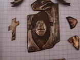 Серебренные старинные накладки, фото №9