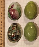 Шкатулка жестяная, пасхальное яйцо, 2 шт., фото №4