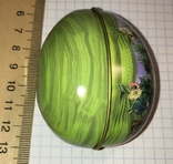 Шкатулка жестяная, пасхальное яйцо, 2 шт., фото №10