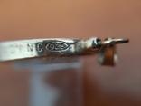 Серебряный лечебная магнитный кулон подвеска Biostabil-2000., фото №7