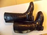 Офицерские хромовые сапоги. Германская Дем. республика., фото №9