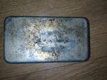 Коробочка латунная никелированая, фото №7