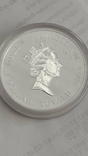 1 Доллар 2009г. 300 Лет Полтавской битве. Тувалу. Серебро., фото №7