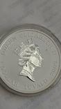 1 Доллар 2009г. 300 Лет Полтавской битве. Тувалу. Серебро., фото №9