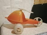 Вертолётик на колесиках времён СССР. Клеймо., фото №2