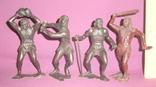Игрушки Первобытные люди пластиковые фигурки из СССР - 15см., фото №2