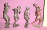 Игрушки Первобытные люди пластиковые фигурки из СССР - 15см., фото №4