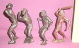 Игрушки Первобытные люди пластиковые фигурки из СССР - 15см., фото №6
