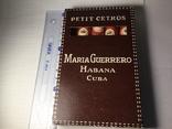 Сигары Куба Maria Guerrero 1965 год коллекционные 4 штуки, фото №2