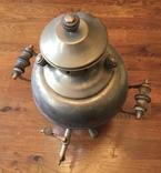 Самовар «шар» 1985 года, латунь, фото №3