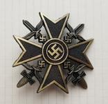 Германия. Третий Рейх. Испанский Крест с мечами №2 (копия), фото №2