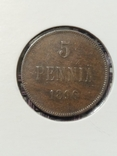 5 пенни 1896, XF, фото №2
