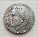 Рейхсмарка Адольф Гитлер 1938 г. (копия), фото №2