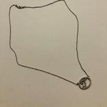 Подвеска Инициал буква от известного бренда Lee Angel серебро 925, фото №3