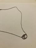 Подвеска Инициал буква от известного бренда Lee Angel серебро 925, фото №4