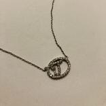 Подвеска Инициал буква от известного бренда Lee Angel серебро 925, фото №5