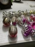 Ялинкові прикраси ссср стекло елечние игрушки, фото №5