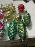 Ялинкові прикраси ссср стекло елечние игрушки, фото №6