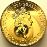 Великобритания 100 фунтов 1997 г., фото №3