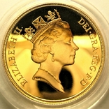 Великобритания 2 фунта 1987 г. Proof, фото №3