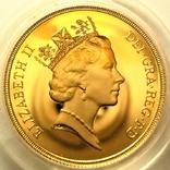 Великобритания 2 фунта 1987 г. Proof, фото №4
