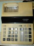 Электрический электронный калькулятор CITIZEN, фото №2