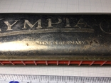 Губная гармошка Olympia Германия 1940, фото №5