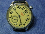 Часы Молния 3602 Паровоз,железнодорожные.Рабочие на ремешке, фото №2