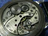 Часы Молния 3602 Паровоз,железнодорожные.Рабочие на ремешке, фото №10