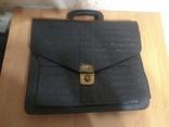Портфель кожаный, фото №2