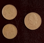 Монеты Норвегии. 3 шт. По курсу., фото №2