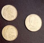 Монеты Норвегии. 3 шт. По курсу., фото №3