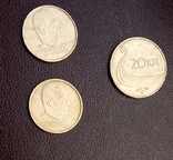 Монеты Норвегии. 3 шт. По курсу., фото №5