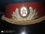 Парадная военная фуражка. СССР., фото №5