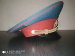 Парадная военная фуражка. СССР., фото №6