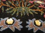 Сумка - гобелен с ручной вышивкой бисером и блёстками., фото №6