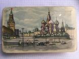 Москва Кремль коробочка из жести 1117см., фото №2