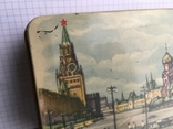 Москва Кремль коробочка из жести 1117см., фото №3