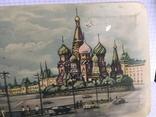 Москва Кремль коробочка из жести 1117см., фото №5