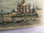 Москва Кремль коробочка из жести 1117см., фото №6