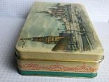 Москва Кремль коробочка из жести 1117см., фото №10